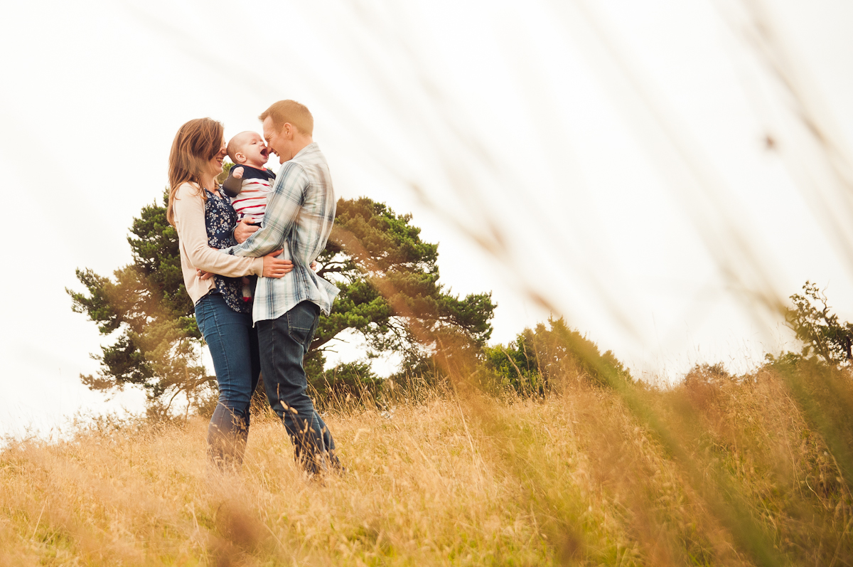 Family photoshoot in Knole Park, Sevenoaks